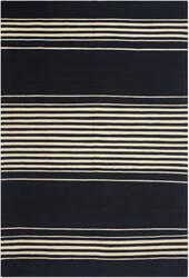 Ralph Lauren Bluff Point Stripe Rlr2869b Cinder Area Rug