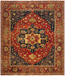 Ralph Lauren Eastwood RLR7521A Norfolk Red Area Rug
