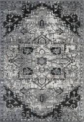 Ramerian Aleah 4900-ALX Ivory - Gray Area Rug