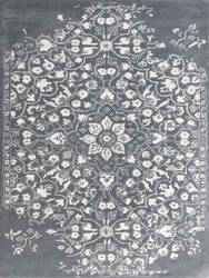 Ramerian Arthurine 1100-ART Gray - White Area Rug