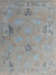 Ramerian Arthurine 1200-ART Silver - Blue Area Rug