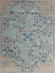 Ramerian Arthurine 200-ART Silver - Blue Area Rug