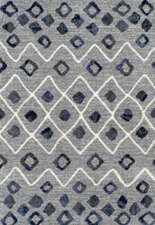 Ramerian Carissa 1400-CAR Steel Blue Area Rug