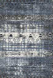 Ramerian Carissa 100-CAR Ivory - Blue Area Rug