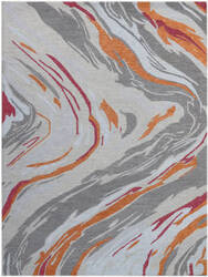 Ramerian Carmella 1000-CRR Orange Area Rug