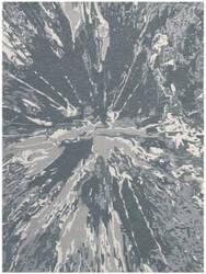 Ramerian Carmella 1600-CRR Charcoal Area Rug