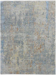 Ramerian Mardella Mda8 Bleu - Grey Area Rug