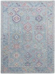 Ramerian Radiant RDT-2 Light Blue Area Rug