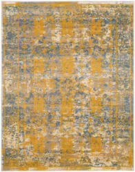 Ramerian Sandrine 400-SNA Blue - Gold Area Rug