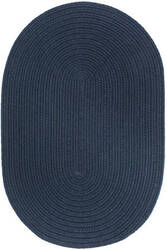 Rhody Rugs Wearever S012 Navy Area Rug