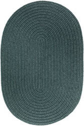 Rhody Rugs Wearever S034 Teal Area Rug