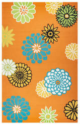 Rizzy Azzura Hill Ah-9973 Orange Area Rug