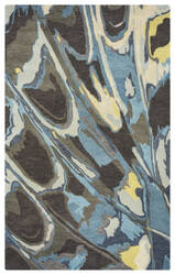 Rizzy Bradberry Downs Bd-8597 Blue Area Rug