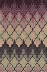 Rizzy Bradberry Downs Bd8873 Purple Area Rug