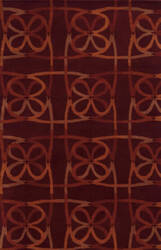 Rizzy Bradberry Downs Bd8887 Burgundy Area Rug