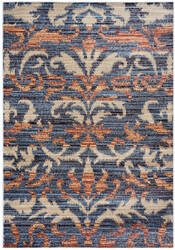 Rizzy Bay Side Bs-3596 Blue - Black Area Rug