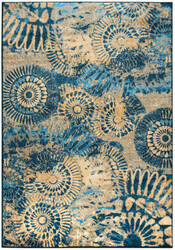 Rizzy Bellevue Bv-3423 Blue Area Rug