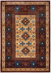 Rizzy Bellevue Bv-3709 Tan - Ivory - Brown Area Rug