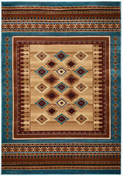 Rizzy Bellevue Bv-3712 Tan - Ivory - Brown Area Rug