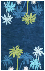 Rizzy Cabot Bay Ca-9462 Navy Area Rug