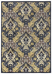 Rizzy Carrington Cg-4834 Blue - Tan Area Rug