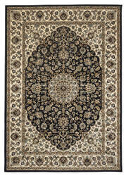 Rizzy Chateau Ch-4195 Black Area Rug