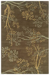Rizzy Craft Cf-0812 Brown Area Rug