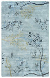 Rizzy Craft Cf-0815 Blue Area Rug