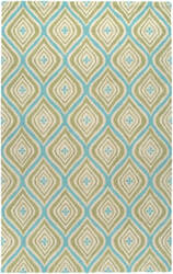 Rizzy Country Ct3123 Green - Blue Area Rug