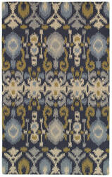 Rizzy Country Ct8225 Navy Area Rug