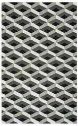 Rizzy Country Ct-8584 Grey Area Rug