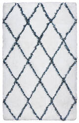 Rizzy Connex Cx-005a White Area Rug