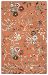 Rizzy Eden Harbor Eh-8637 Orange Area Rug