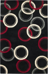Rizzy Fusion Fn1451 Black Area Rug