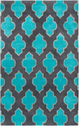 Rizzy Fusion Fn2209 Blue - Teal Area Rug