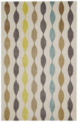 Rizzy Gillespie Avenue Gv8623 Brown - Grey - Yellow - Blue Area Rug