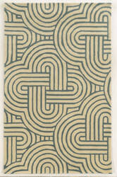 Rizzy Julian Pointe Jp-8615 Grey Blue Area Rug