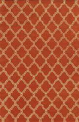 Rizzy Julian Pointe Jp-8743 Orange Area Rug
