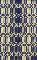 Rizzy Julian Pointe Jp-8777 Blue Area Rug
