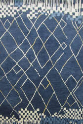 Rizzy Marianna Fields Mf010b Navy Area Rug
