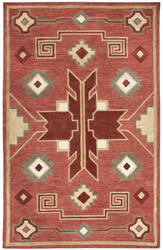 Rizzy Mesa Mz042b Red Area Rug
