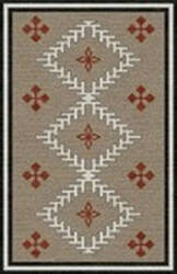 Rizzy Mesa Mz049b Brown Area Rug
