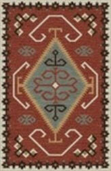 Rizzy Mesa Mz166b Red Area Rug