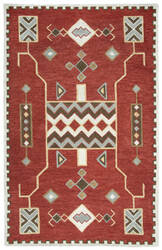 Rizzy Mesa Mz160b Red Area Rug