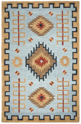 Rizzy Mesa Mz162b Light Blue Area Rug