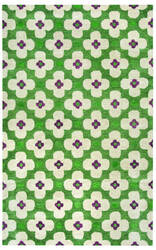 Rizzy Opus Op-8097 Green Area Rug