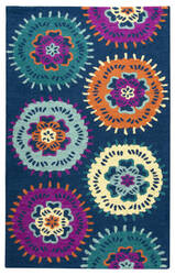 Rizzy Play Day Pd-538a Navy Area Rug
