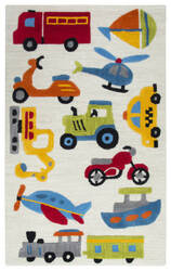 Rizzy Play Day Pd-579a Ivory Area Rug