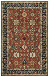 Rizzy Stafford Sa980a Red Area Rug