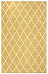 Rizzy Swing Sg-2417 Yellow - Gold Area Rug